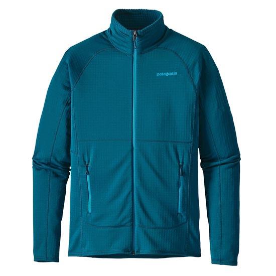 Patagonia R1 Full Zip Jacket - Deep Sea Blue