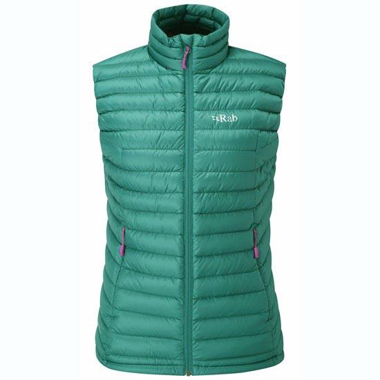 Rab Microlight Vest W - Spruce