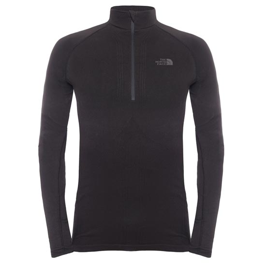 The North Face Hybrid L/S Zip Neck - TNF Black