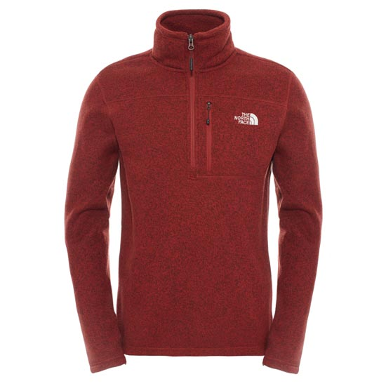 The North Face Gordon Lyons 1/4 Zip - Brick House Red Heather