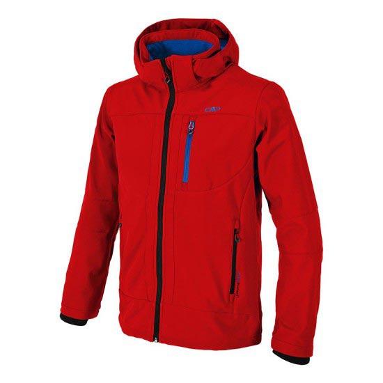 Campagnolo Softshell Zip Hood Jacket - Lacca