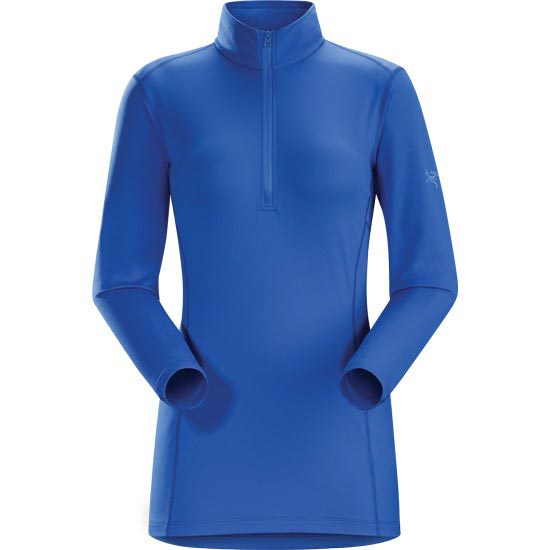 Arc'teryx Phase AR Zip Neck Ls W - Island Blue