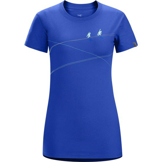Arc'teryx Up Slope SS T-Shirt W - Somerset Blue