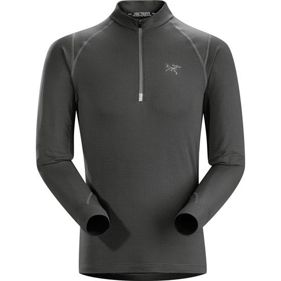 Arc'teryx Thetis Zip Neck - Carbon Cop