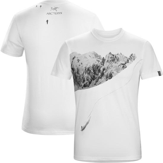 Arc'teryx Journey Down SS T-Shirt - White