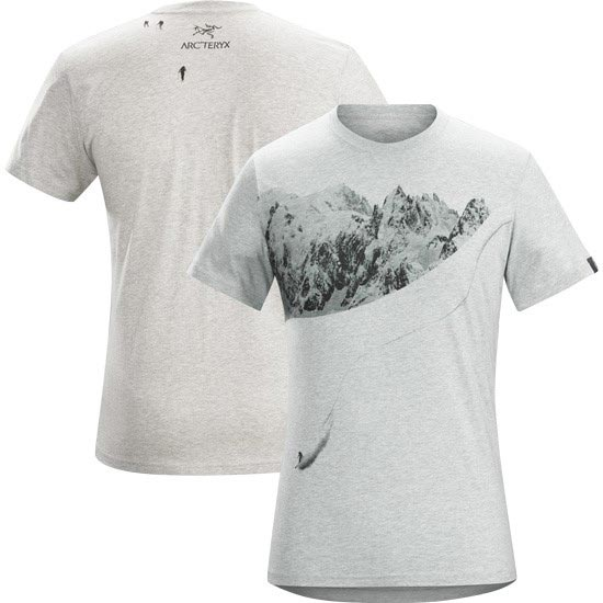 Arc'teryx Journey Down SS T-Shirt - Heathered