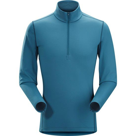 Arc'teryx Phase AR Zip Neck LS - Legion Blue