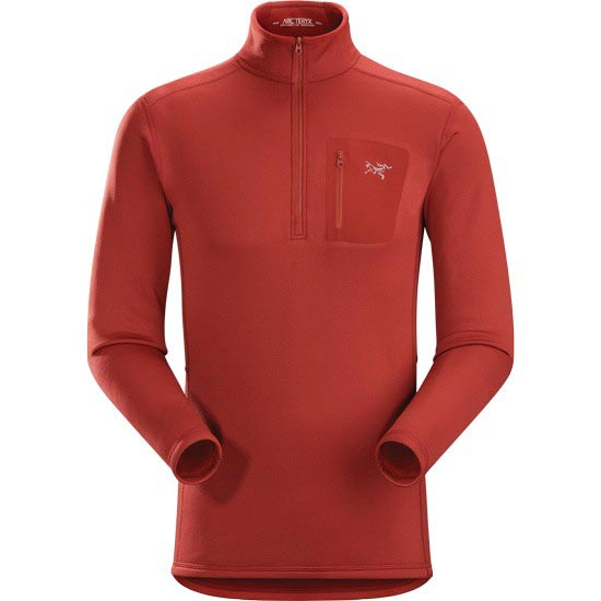 Arc'teryx Rho AR Zip Neck - Sangria