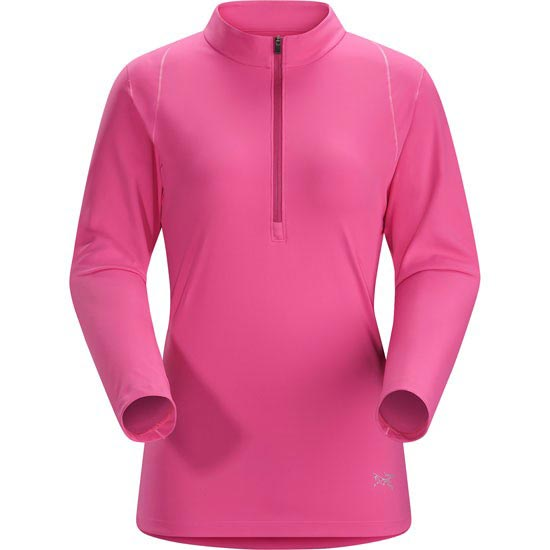 Arc'teryx Ensa Zip Neck Ls W - Houli Pink