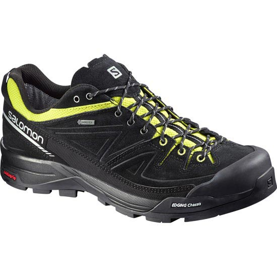 Salomon X Alp GTX - Black/Gecko Green