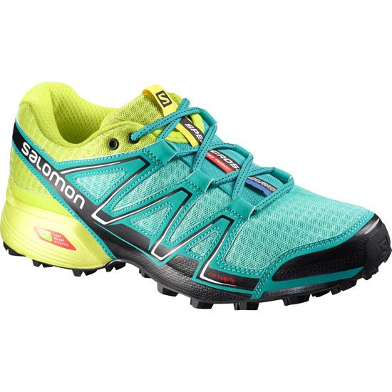 Salomon Speedcross Vario W - Bubble Blue/Gecko Green
