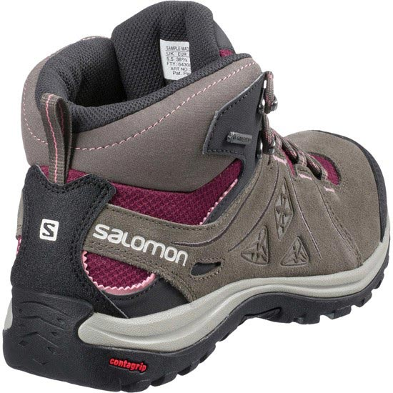 Salomon Ellipse 2 Mid Leather Gtx W - Photo de détail