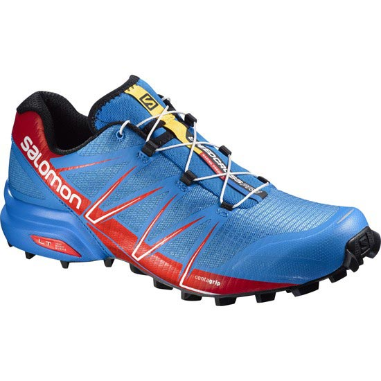 Salomon Speedcross Pro - Bright Blue/Radiant Red