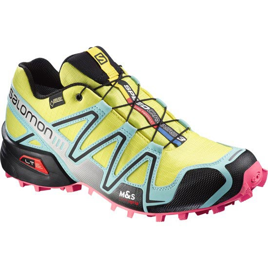 Salomon Speedcross 3 Gtx W - Citrus-x/Bubble Blue