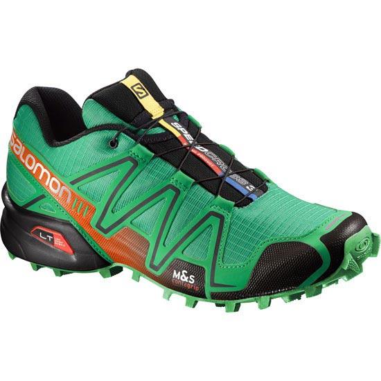 Salomon Speedcross 3 - Real Green/Red