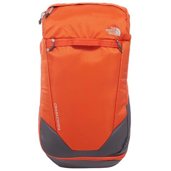 The North Face Cragaconda L/XL - Papaya Orange/Asphalt Grey