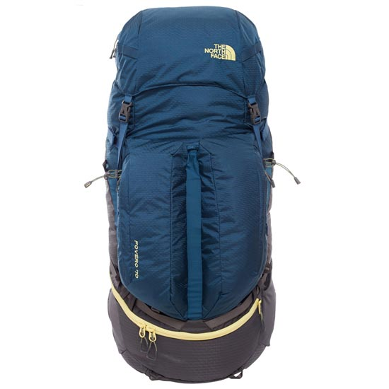 The North Face Fovero 70 - Monterey Blue/Goldfinch Yellow