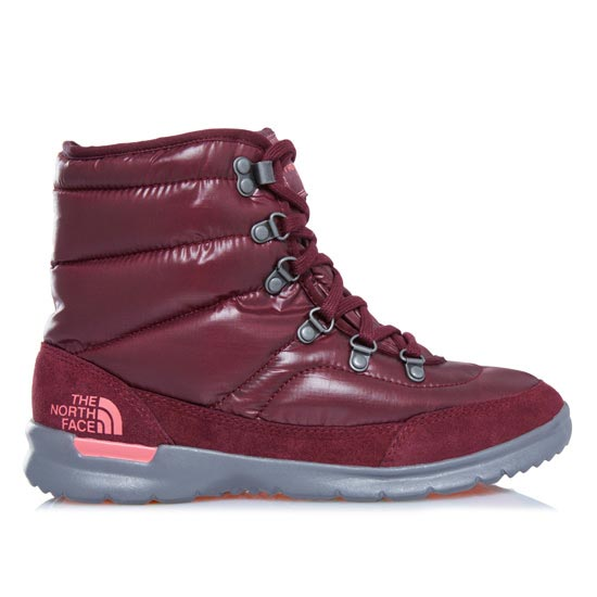 The North Face Thermoball Lace II W - Shiny Deep Garnet Red/Calypso Coral