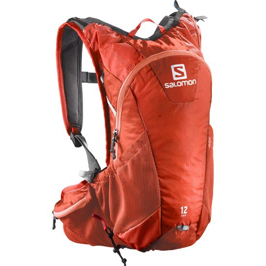 Salomon Agile 12 Set - Bright Red/White