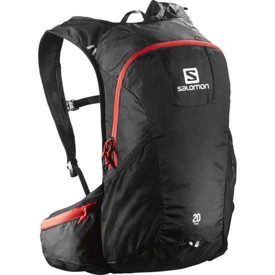 Salomon Trail 20 - Black/Bright Red