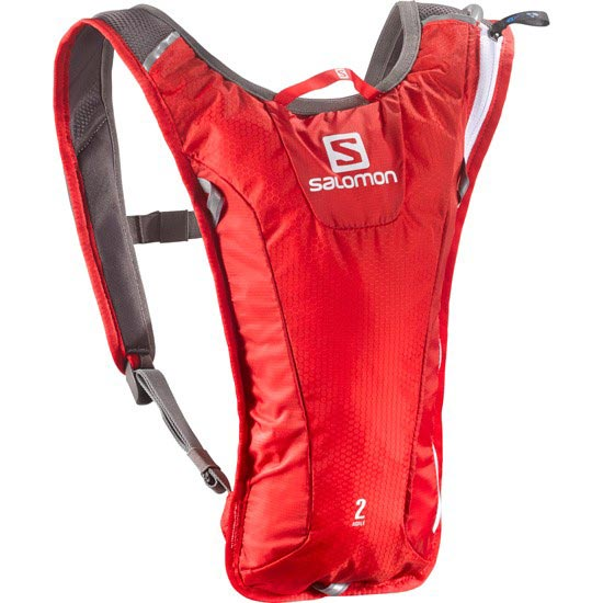Salomon Agile 2 Set - Bright Red/White