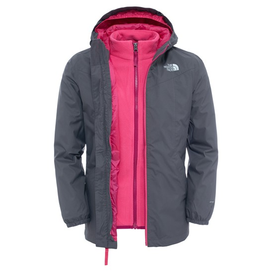 The North Face Eliana Rain Triclimate Girl - Graphite Grey