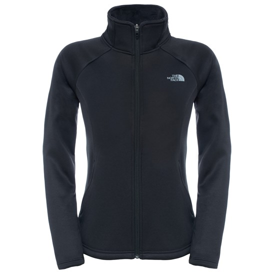 The North Face Agave Full Zip W - TNF Black Heather