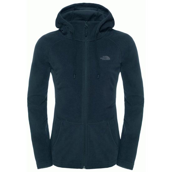 The North Face Mezzaluna Full Zip Hoodie W - Urban Navy