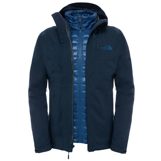 The North Face ThermoBall Triclimate Jacket - Urban Navy Heather