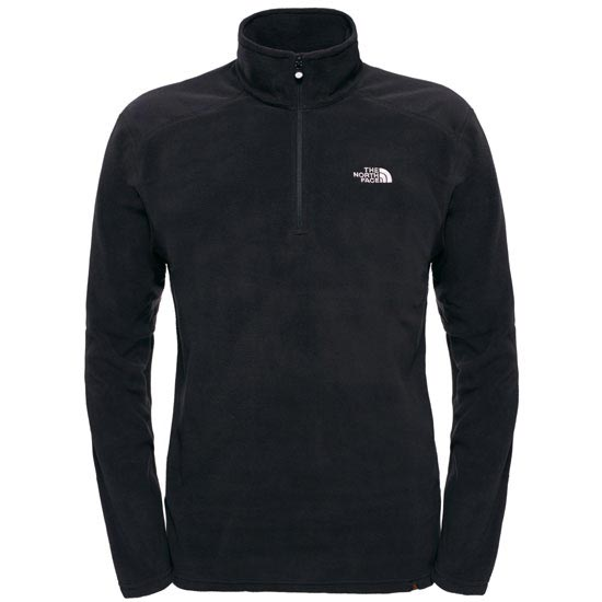 The North Face M 100 Glacier 1/4 Zip - Tnf Black