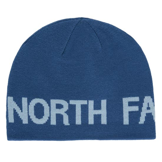 The North Face Reversible TNF Banner Beanie - Shady Blue/Worn Blue