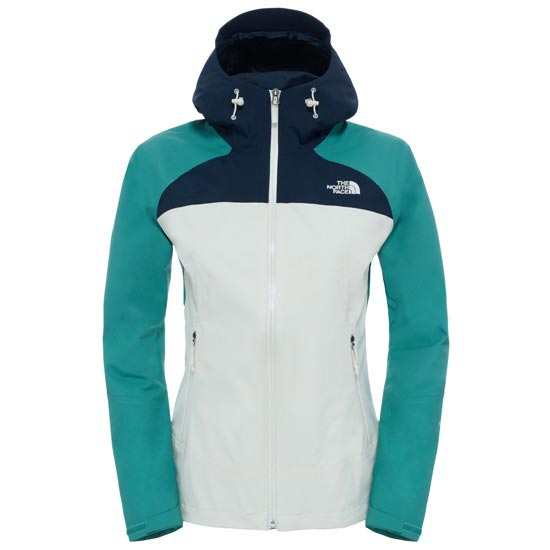 The North Face Stratos Jacket W - White/Deep Sea