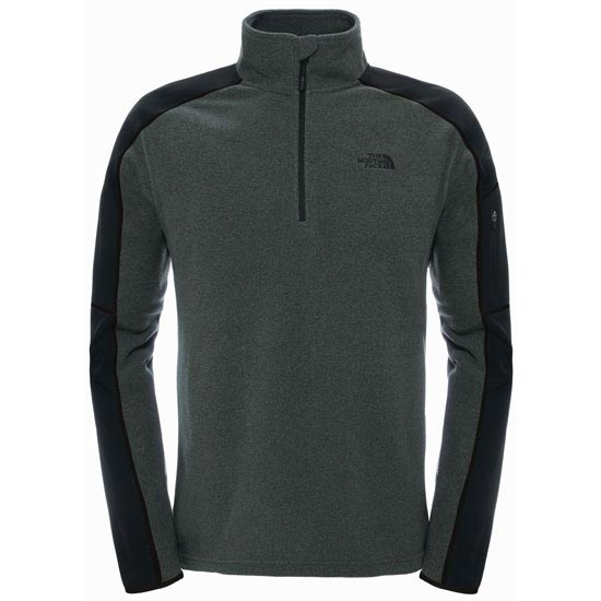 The North Face Glacier Delta 1/4 Zip - TNF Dark Grey Heather