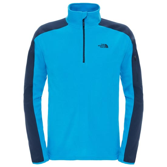 The North Face Glacier Delta 1/4 Zip - Blue Aster