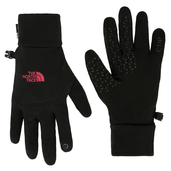 The North Face Etip Glove W - TNF Black/Cerise Pink