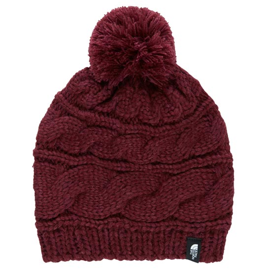 The North Face Triple Cable Pom Beanie -