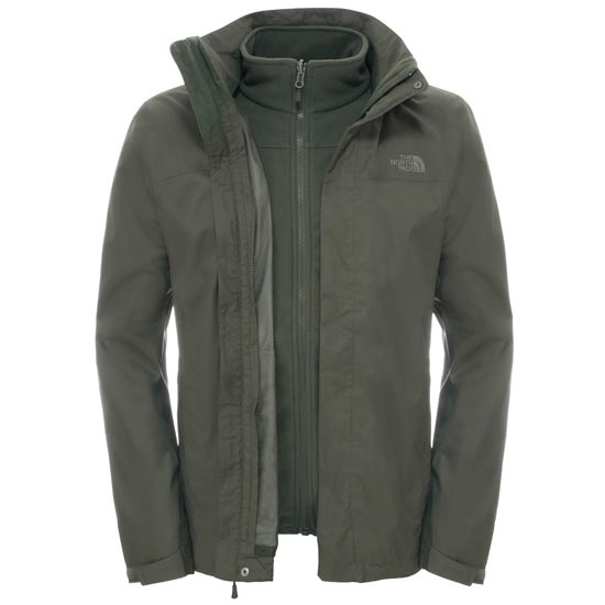 The North Face Evolve II Triclimate Jacket - Climbing Ivy Green
