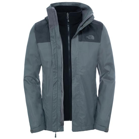 The North Face Evolve II Triclimate Jacket - Fusebox Grey/Asphalt Grey
