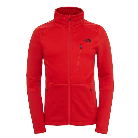 The North Face Croda Rossa Fleece - Fiery Red