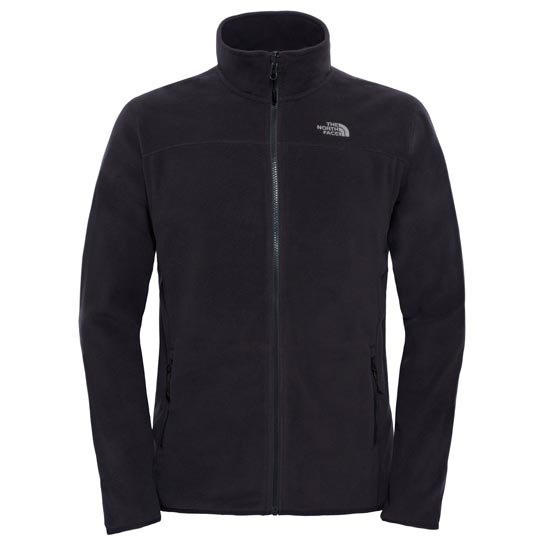The North Face 100 Glacier Full Zip W - TNF Black