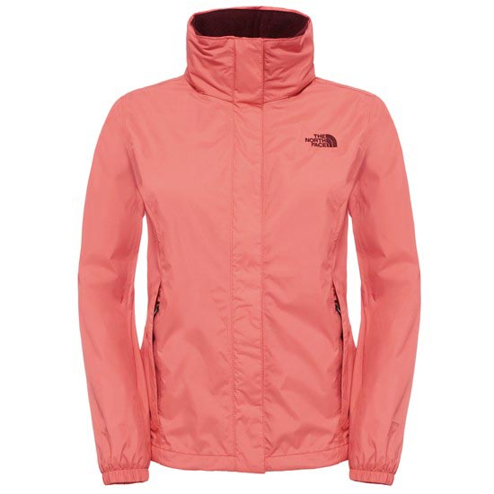 The North Face Resolve Jacket W - Spiced Coral