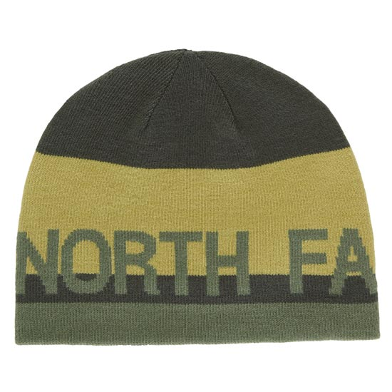 The North Face Reversible TNF Banner Beanie - Rosin Green/Lemongrass Green