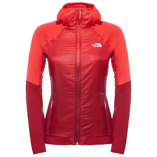 The North Face Kokyu Full Zip Hoodie W - Biking Red