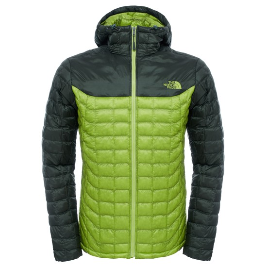 The North Face Thermoball Hoodie - Chive Green/Climbing Ivy Green