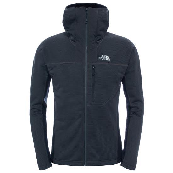 The North Face Super Flux Hoodie Jacket - Asphalt Grey/TNF Black