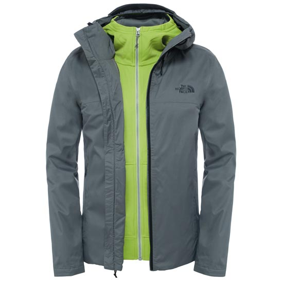 The North Face Morton Triclimate Jacket - Fusebox Grey Heather