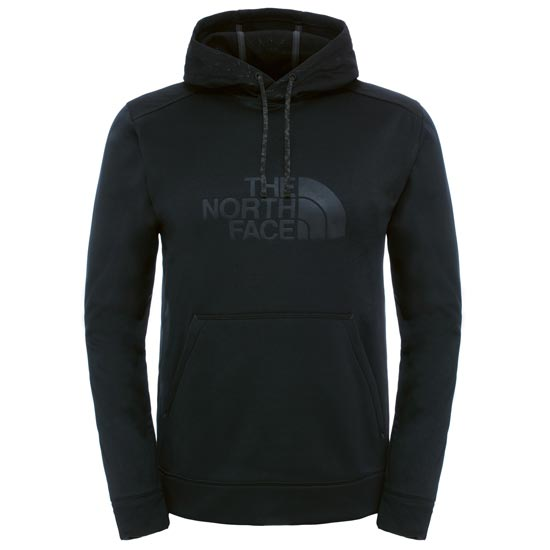 The North Face Ampere Pullover Hoodie - TNF Black/Asphalt Grey