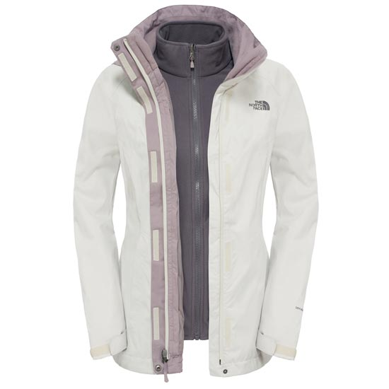 The North Face Evolve II Triclimate Jacket W - Vintage White