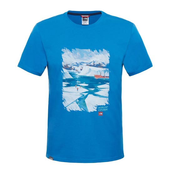 The North Face S/S Never Stop Exploring Series Tee - Banff Blue