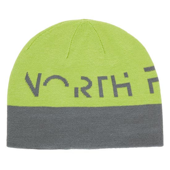The North Face Reversible TNF Banner Beanie - Fusebox Grey/Chive Green
